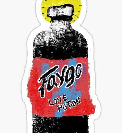midwestern love potion sticker Sticker