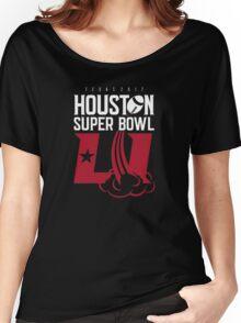 Super Bowl LI 2017 rocket ball Women's Relaxed Fit T-Shirt