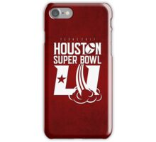 Super Bowl LI 2017 rocket ball iPhone Case/Skin