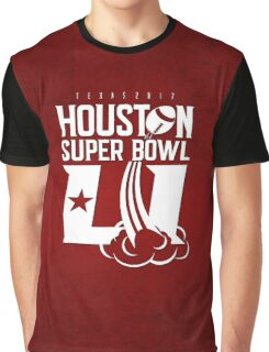 Super Bowl LI 2017 rocket ball Graphic T-Shirt