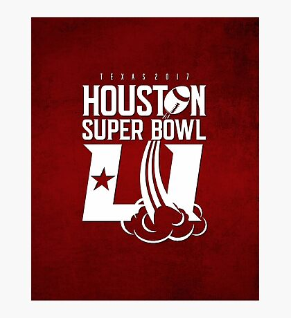 Super Bowl LI 2017 rocket ball Photographic Print