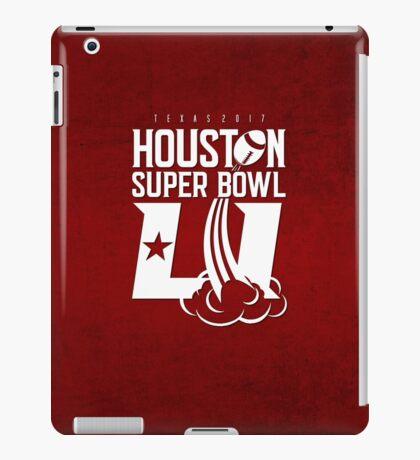 Super Bowl LI 2017 rocket ball iPad Case/Skin