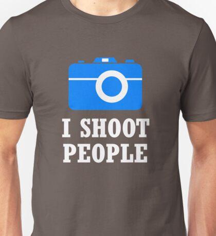 I Shoot People Photography Unisex T-Shirt