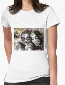zombie girls Womens Fitted T-Shirt