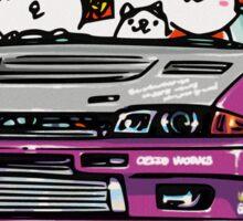 Crazy Car Art 0141 Sticker