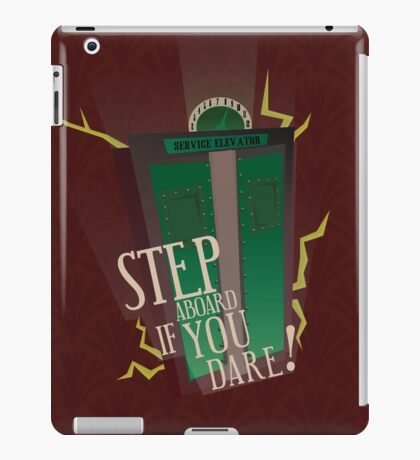 Tower of Terror Final Check-Out iPad Case/Skin