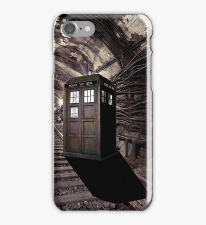 tardis 01  iPhone Case/Skin