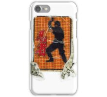 Karate Sticker iPhone Case/Skin