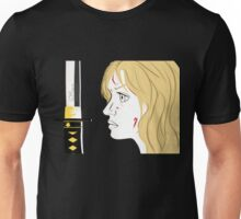 Kill Bill Sword (Transparent) Unisex T-Shirt