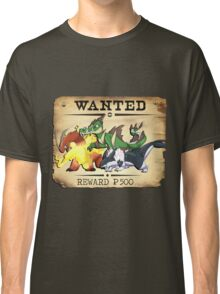 Johto Starters Alola Forms - Most Wanted Poster Classic T-Shirt