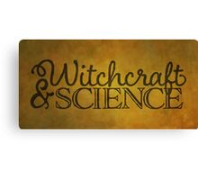 Witchcraft & Science Canvas Print