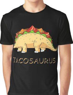 Funny Tacosaurus Dinosaur Tacos Food Mexican T-Shirt Graphic T-Shirt