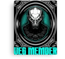 Alien Member Canvas Print