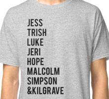 Jessica Jones Season 1 Characters - Alt 1 Classic T-Shirt