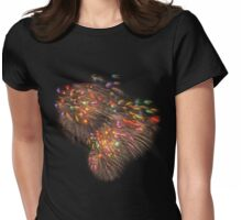 Boston Fireworks - Flying Feathers Womens Fitted T-Shirt