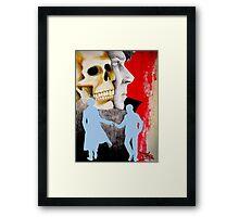 Fatal Deduction Framed Print