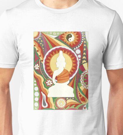 Vintage Psychedelic Buddha Unisex T-Shirt