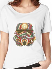 Vintage Psychedelic Storm Mask Women's Relaxed Fit T-Shirt