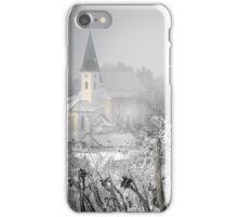 Auersthal im Winter iPhone Case/Skin