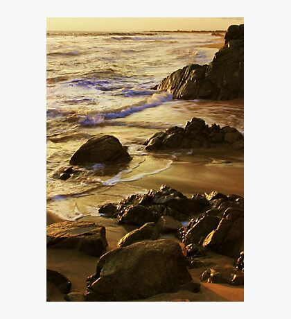 On Golden Sands Photographic Print