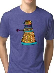 Zack's Little Dalek Tri-blend T-Shirt