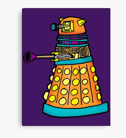 Zack's Little Dalek Canvas Print