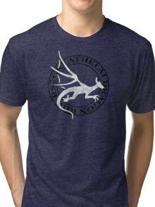Greathelm Dragon Riders Logo Tri-blend T-Shirt