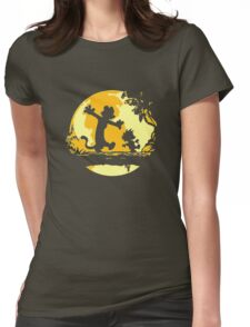 Calvin and Hobbes Tee Shirt Womens Fitted T-Shirt