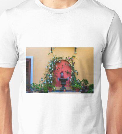 Tuscany window Unisex T-Shirt