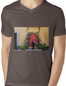 Tuscany window Mens V-Neck T-Shirt