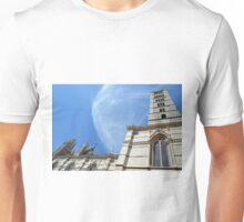 Detail of the basilica building from Siena Unisex T-Shirt