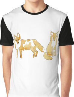 Red foxes Graphic T-Shirt
