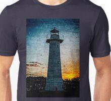 Cleveland Lighthouse at Sunset Unisex T-Shirt