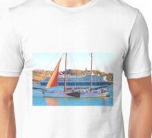 ships . tagus river. rio tejo Unisex T-Shirt