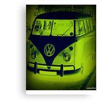 Split Screen VW Combi - New Products Canvas Print