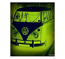 Split Screen VW Combi - New Products Photographic Print