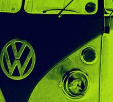 Split Screen VW Combi - New Products Sticker
