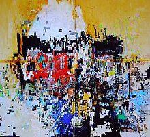 NEW YORK NEW YORK (Painted Pixels) by leethompson