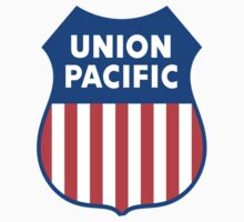 Union Pacific Train Shirt Sticker Old School Cases Card Poster by 8675309