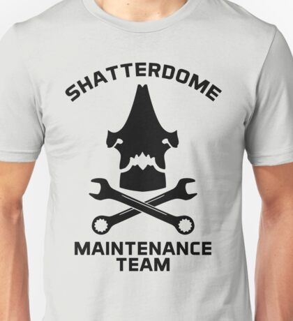 Shatterdome Maintenance Team - Black Unisex T-Shirt
