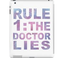 Rule 1 iPad Case/Skin
