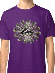 Retro Treble Clef / G Clef Music Symbol Classic T-Shirt