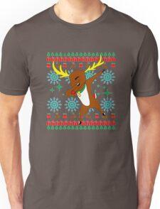 Dabbing Rudolph'S Uglys Merry Christmas Unisex T-Shirt