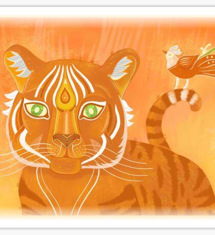 Fantastic Tiger Sticker