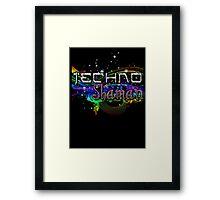 TECHNO SHAMAN Framed Print