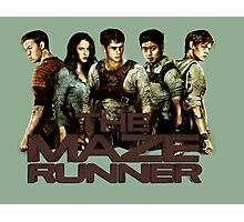 The Maze Runner Photographic Print