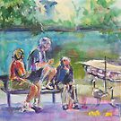 Picnic Pals by christine purtle