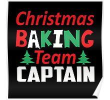 Christmas Baking Team Captain Poster
