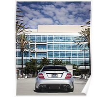C63 Black Series Wide Rear! Poster