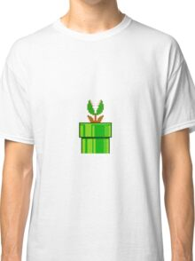 Venus Fly Trap Super Mario Bros Classic T-Shirt